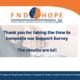 FND Hope UK Support Survey Results